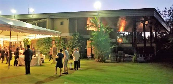 日本大使公邸での新年会」セブ島からマニラに行きました | フィリピン ...